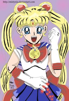 Sailor Moon- Welcome Back by Mistynia