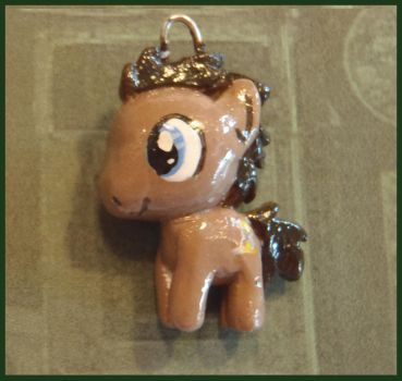 Chibi-Charms: MLP Dr. Whooves by MandyPandaa