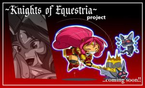 Mlp KNIGHTS OF EQUESTRIA : PINKIE PIE teaser by ShoNuff44