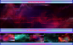 #12 Texture Pack (900x600) - Sound Waves by Ainhel