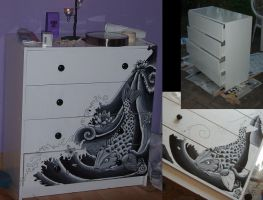 koi commode by k40zk1d