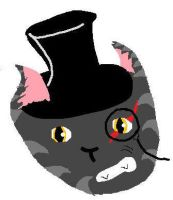 Cat With A Hat, Old by Mudfire4