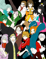 Kagerou Project X My OCs by Andressina