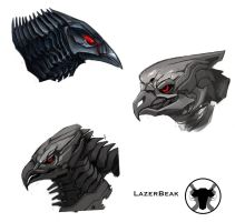Laserbeak concepts by ballisticCow