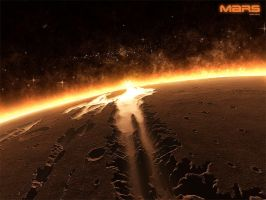 Horizons - Mars IV by emailandthings