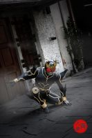 Kuuga Ultimate in the dark by kuugadave