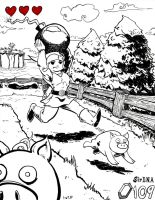 The Legend of Link:Pigs-Wind Waker Style by SirDNA109