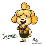 Isabelle by FlintofMother3