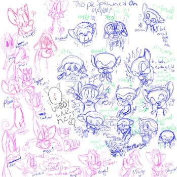 Pinky n Brainy Expressions C: by MissusPatches