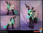 Queen Chrysalis Plushie by PrinceOfRage