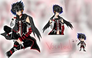 Enter vocaloid hiei Jaganshi by Lady-Storhime