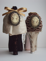 Back view: Needle Cushion Shoes by VictorianRedRose