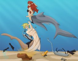Mermaid Discoveries by SepiSnake