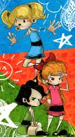 PowerPuff Girls by kraola