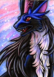 ACEO Mistress of Air by CanisAlbus