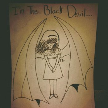 I'm the black devil .. by 3farry