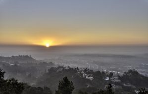 LA at dawn by Roswell51