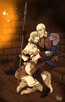 .DS3 Commission: Patches and Yile of Carim. by MalakiaLaGatta