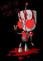 blood gir by JozzGc