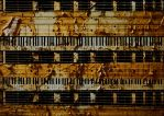bass piano drum sticks guitar by reesy1080