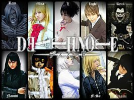 Death Note Cosplay Group by Lawrielle21