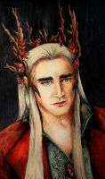 Thranduil by MorgainLaFey