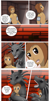 Comission: A sneaky Suit page 1(Serpent TF) by Wolfeenix