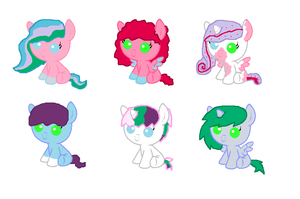 Foals for PaintSet! by star4567980