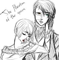 Sketch. Amour Sucre x The Phantom the Opera. by LeonRin