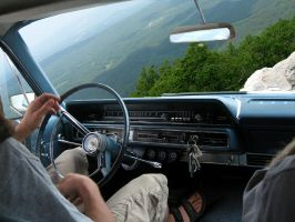 Taking the Galaxie for a test by hyperjet