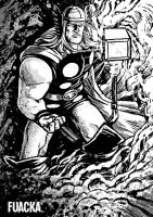 The Mighty Thor by Fuacka