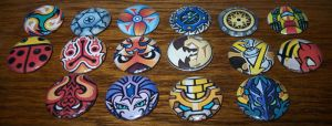 TWEWY Pins - Tin Pin by Paradise-Props