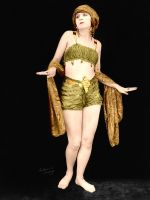 Olive Ann Alcorn Colorized by ajax1946