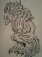 Werewolf by WolfBlood95