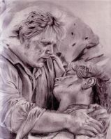 Frodo and Sam by angelhitomi