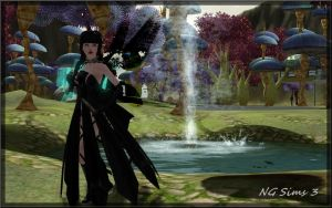Black Fairy Sims Sims3 by ng9