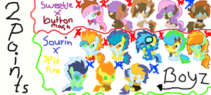 two shipping adoptables(2 POINTS EACH)::CLOSED:: by tiffanykip