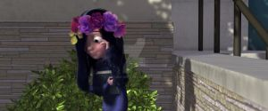 The Flower Crown Series: Violet Parr by Storm-Grey