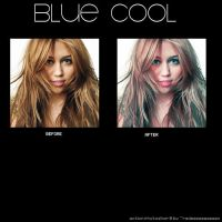 Blue Cool Action by rockmywoorld