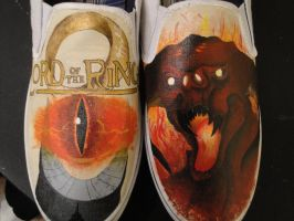 Lord of the Rings Shoes by Hellasure