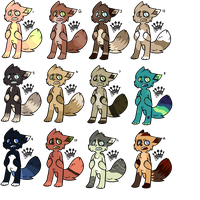 adoptables!! by queerking