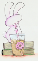 12:30 Coffee Bunny by bunnykissd