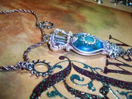 Snow Queen's Tears Necklace by sadwonderland