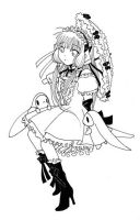 Chi from chobits ClAMP ROCKS by Truthdel