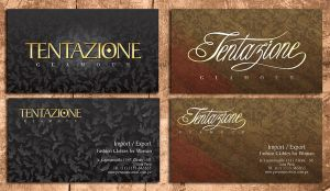 Tentazione Personal Cards by xnideax