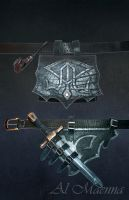Dark Elven Armor Belt by Shattan