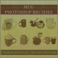 mug brushes by chokingonstatic