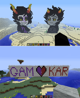 GamKar in MINECRAFT!!! by DarylsChupacabra