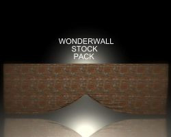 WonderWall Pack I by Shadowelement-Stock