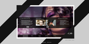 A webtemplate for salons by 360THEMING